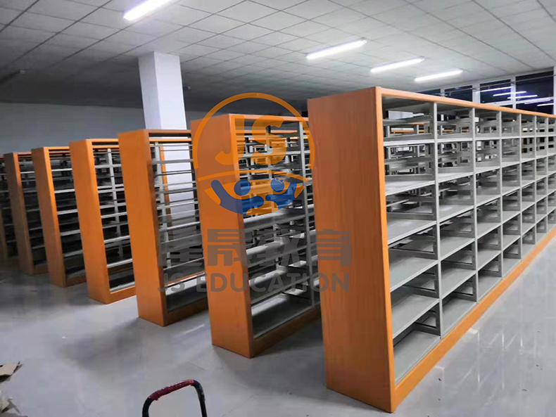 steel school bookcase