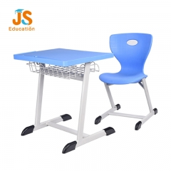 plastic student desk and chair